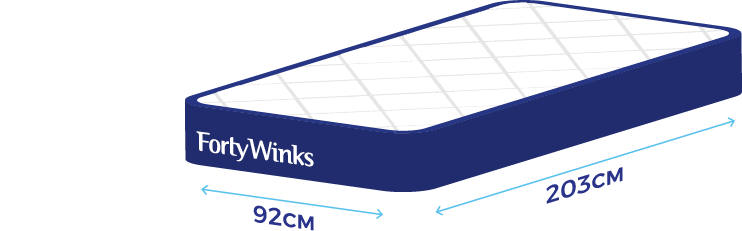 Single Long Size Bed Dimensions