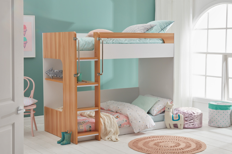 MERCURY SB BUNK (Oak & White) image 1