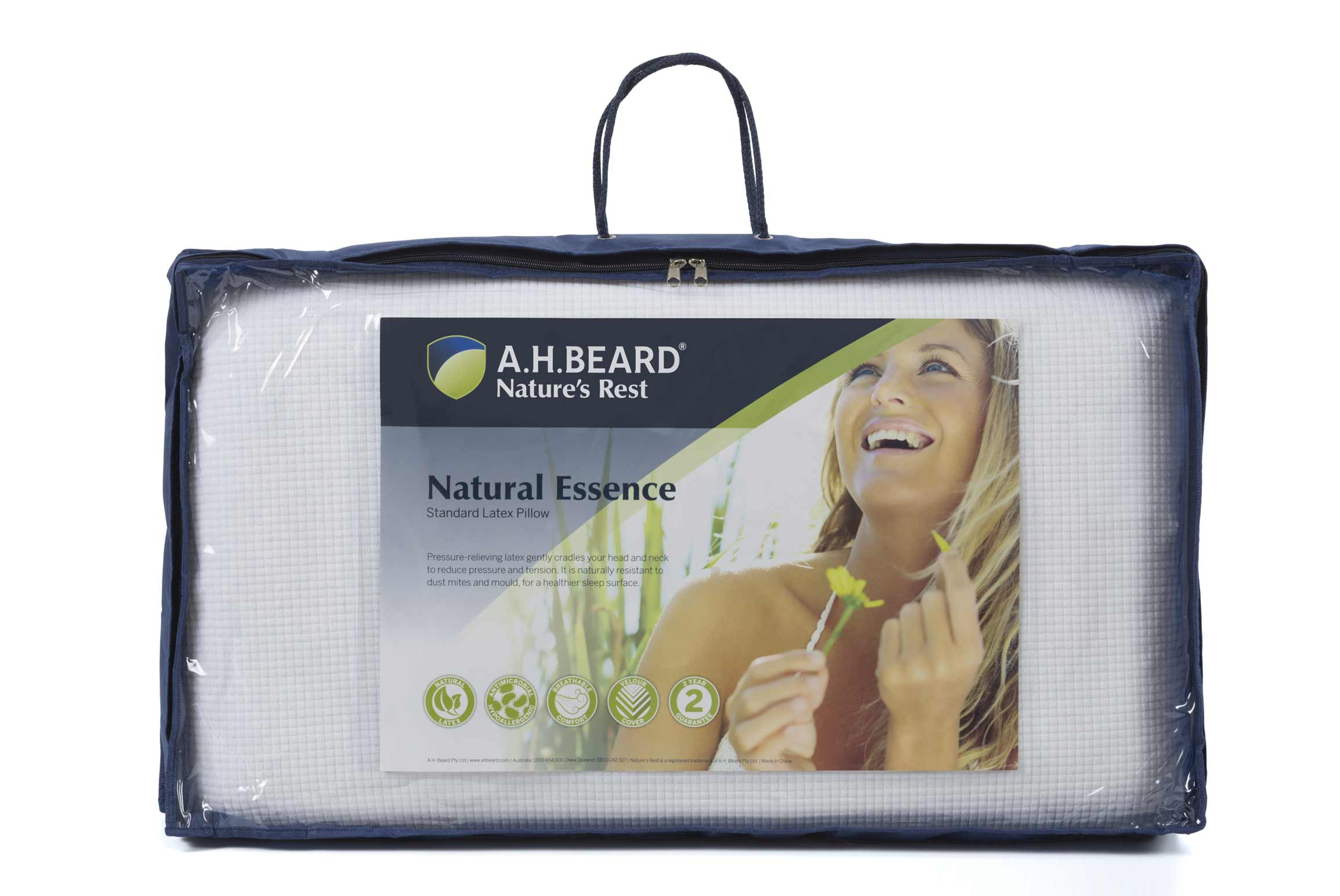 ah beard natural essence pillow latex accessories forty winks