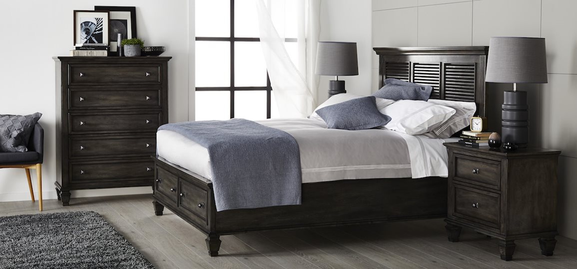 Maison Bed Frame W Storage Drawers Bedroom Furniture
