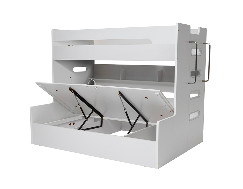 VENUS SB/DB BUNK W/ GAS LIFT (White) image 1