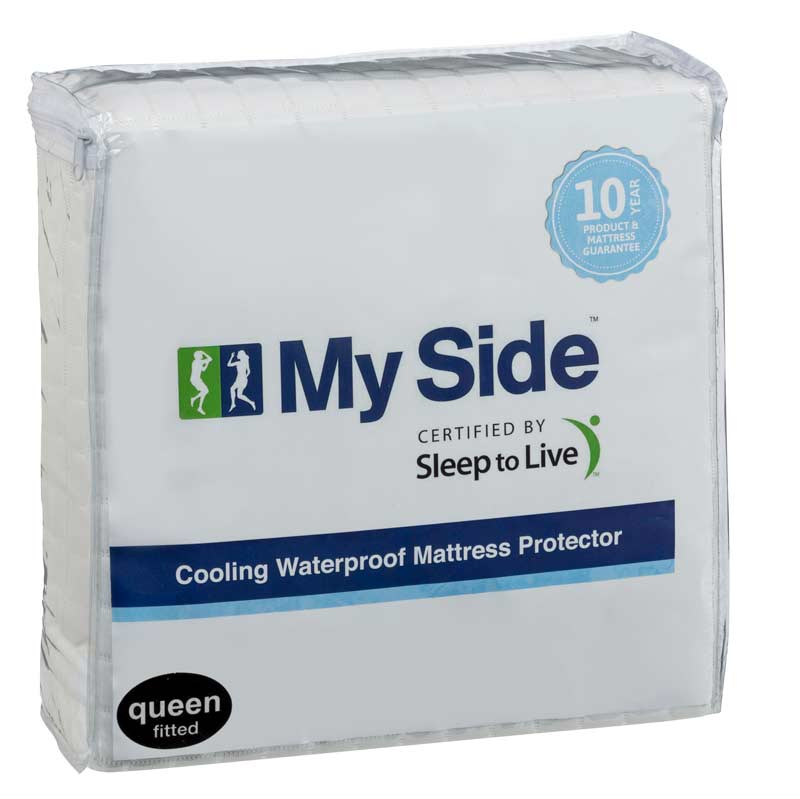 MYSIDE MATTRESS PROTECTOR QB COOLING WATERPROOF image 1