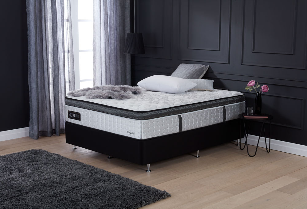 PLATINUM LUXURY HAMPSHIRE MEDIUM QB MATTRESS image 1