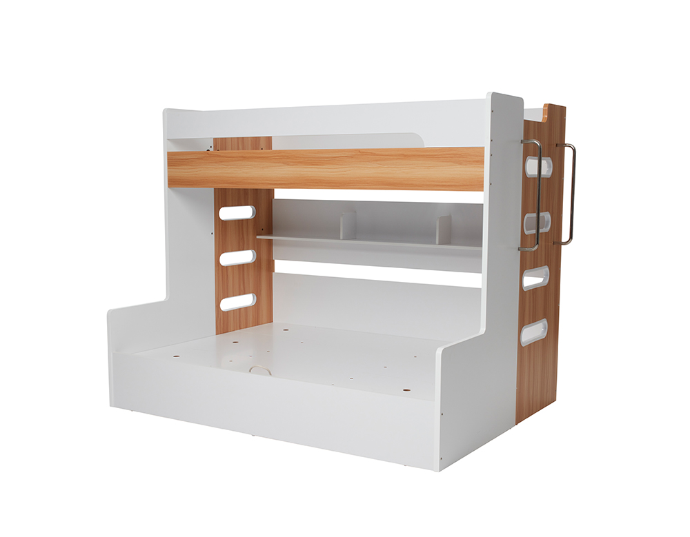 VENUS SB/DB BUNK W/ GAS LIFT (Oak & White) image 1