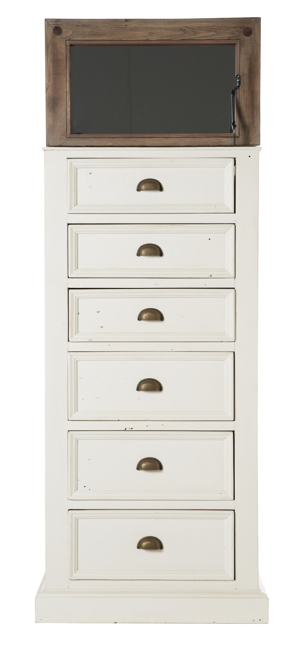 Cornwall Lingerie Chest (6 Drawer), Stucco White | Tuggl