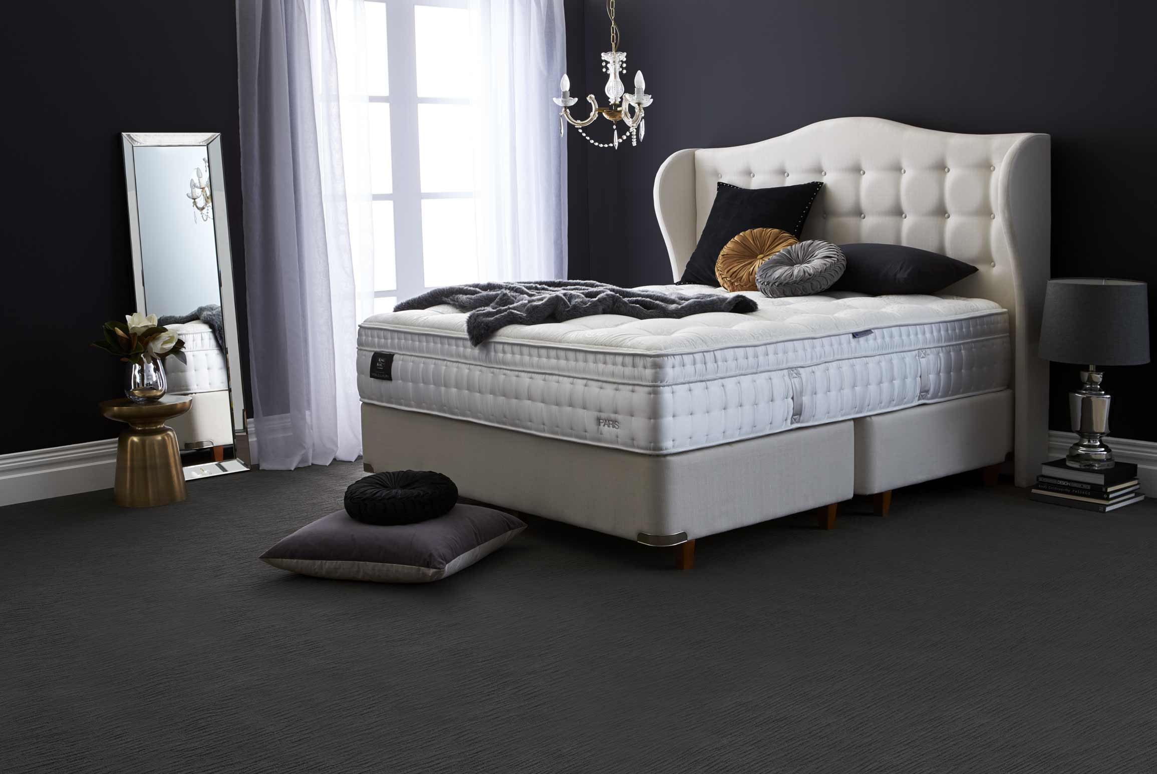 World Luxury Brighton Bedhead Bedroom Furniture Forty Winks