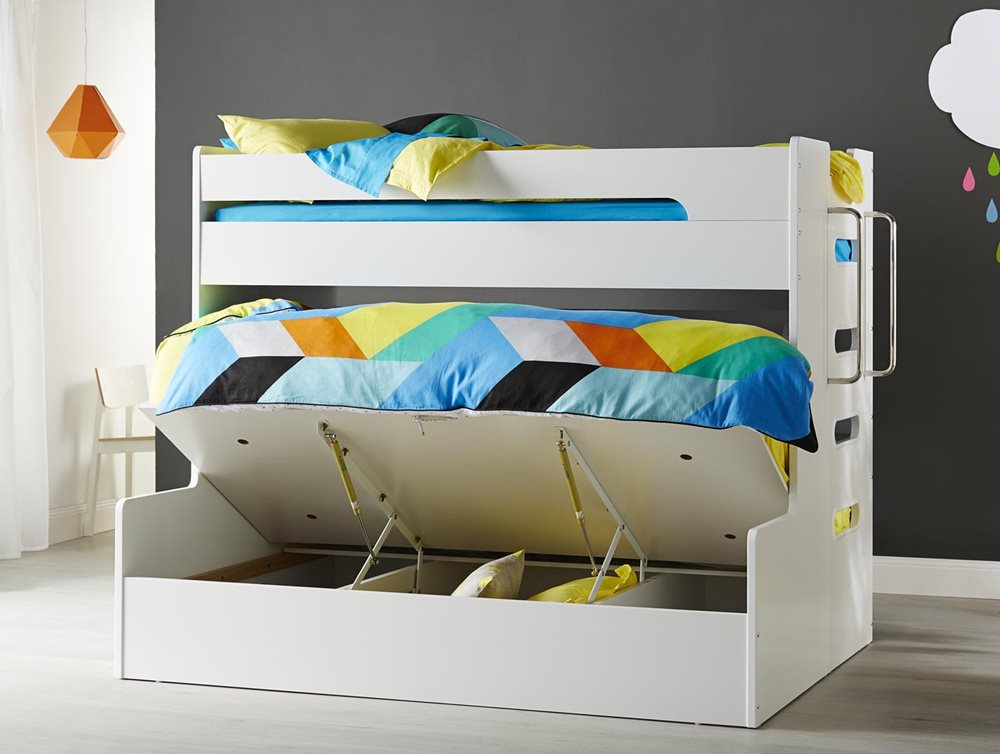 VENUS SB/DB BUNK W/ GAS LIFT (White)  image 3