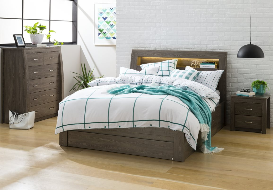 Toulouse Tallboy 5 Drawer Bedroom Furniture Forty Winks