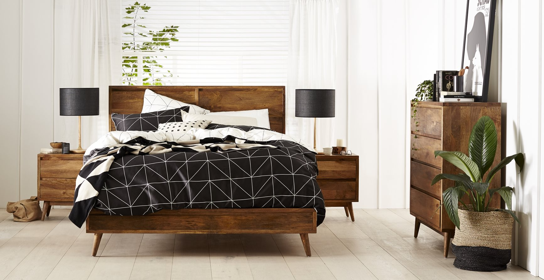 Austin Bed Frame Light Oak Bedroom Furniture Forty Winks
