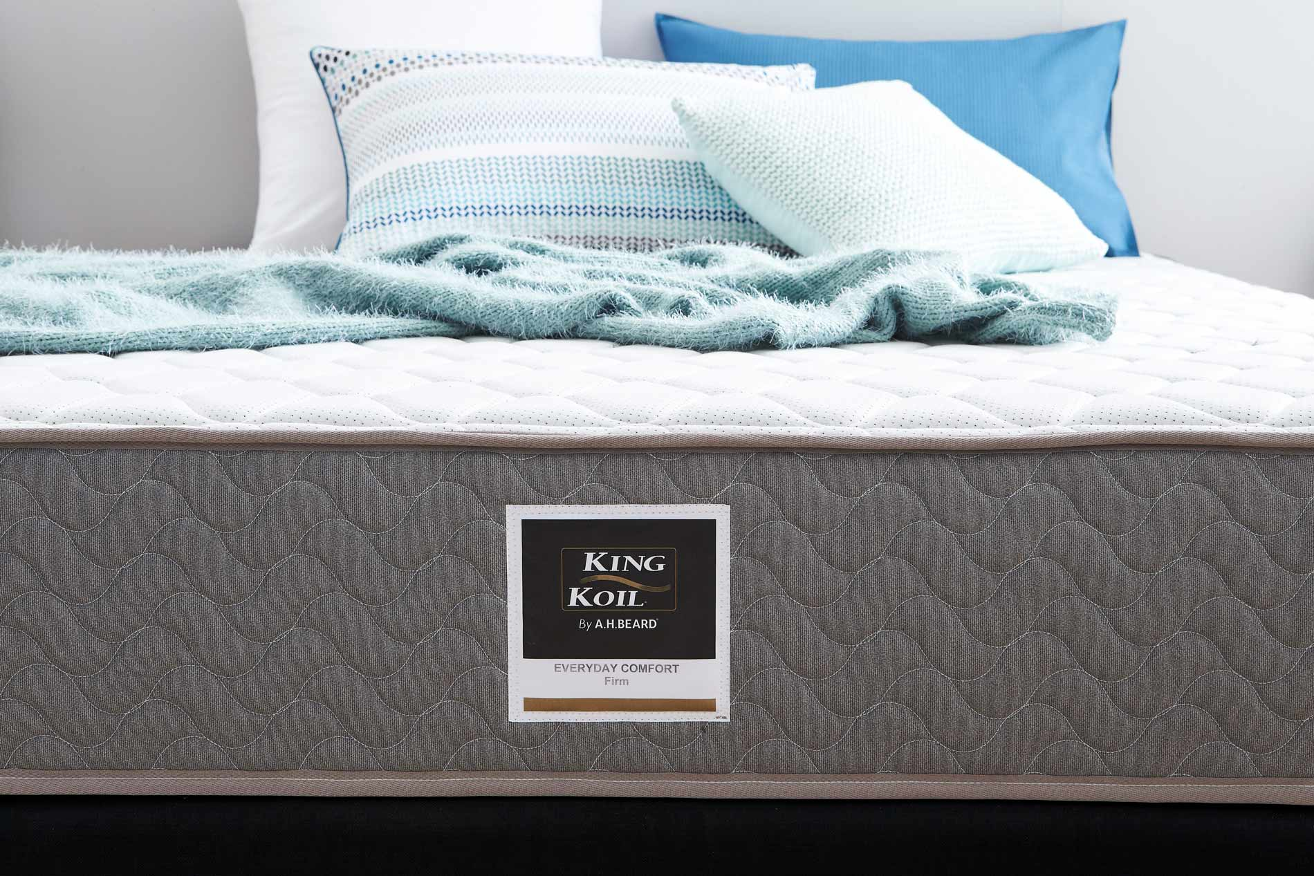 King koil everyday comfort mattress firm beds mattresses forty winks King mattress