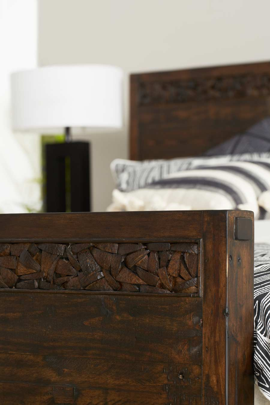 Cocobu Bed Frame Rustic Acorn Bedroom Furniture Forty