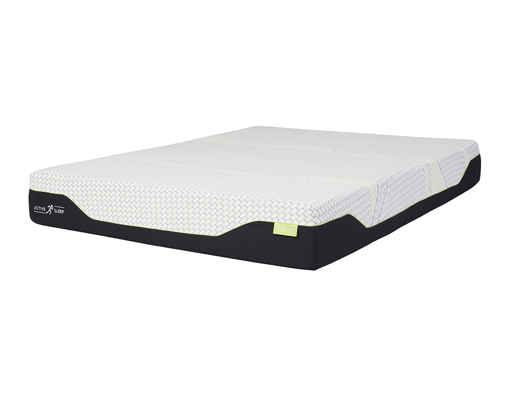 BALANCE  BED IN A BOX QB MATTRESS W/PILLOWS  image 2