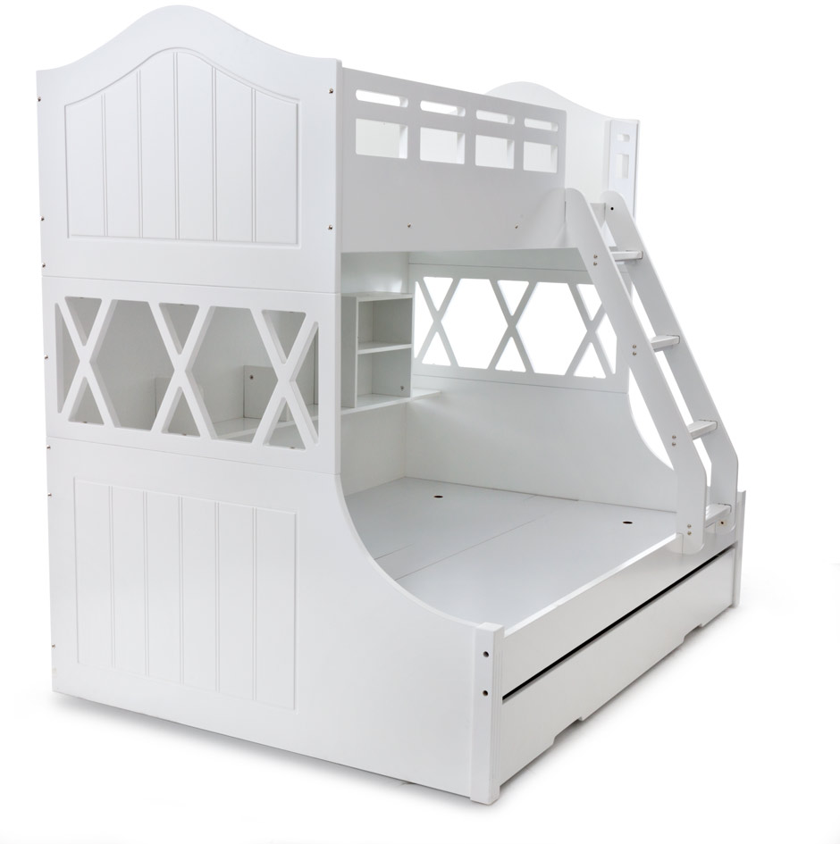SNOW BUNK SB/DB BUNK W/SINGLE TRUNDLE  image 5