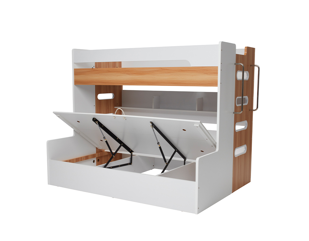 VENUS SB/DB BUNK W/ GAS LIFT (Oak & White)  image 2