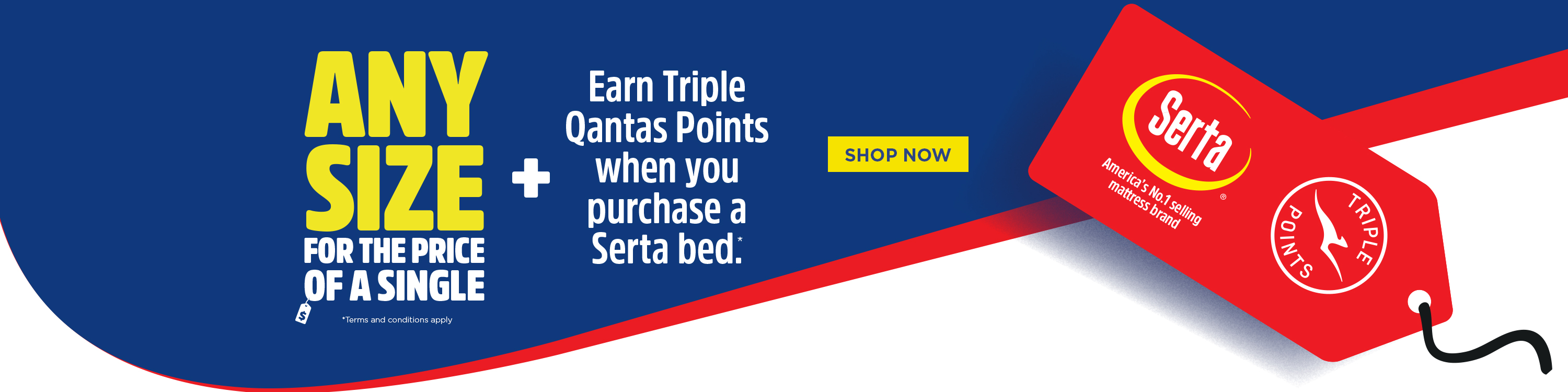 Earn TRIPLE Qantas Points with Forty Winks
