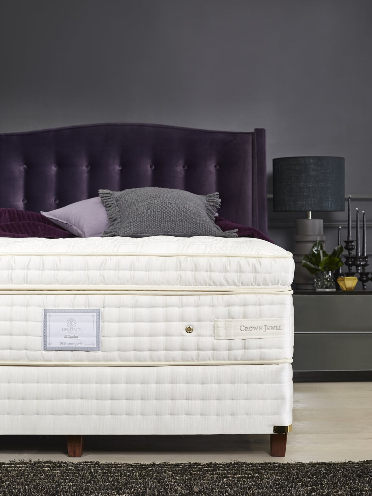 Sealy Posturepedic Crown Jewel Milandes Mattress Beds