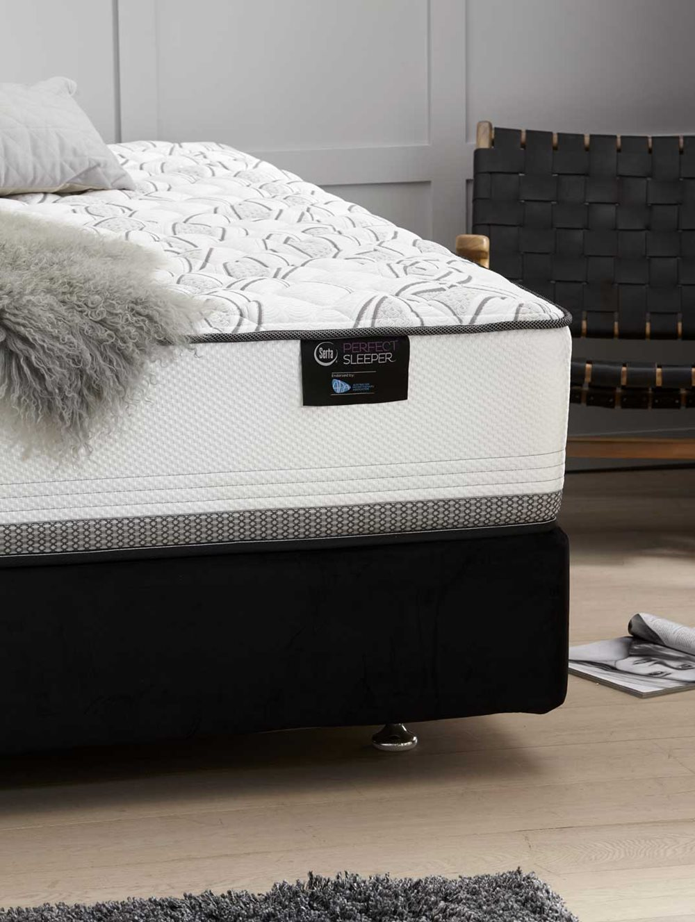DISTINCTION SUPER FIRM  QB MATTRESS  image 3